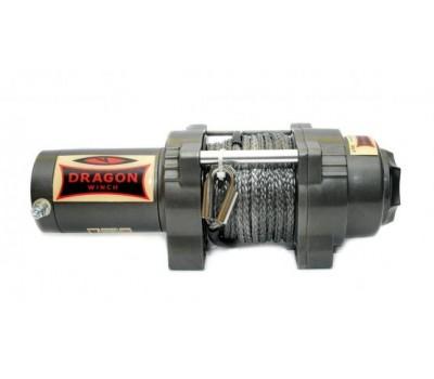 Лебідка  для квадроцикла ATV електрична  Dragon Winch DWH 4500 HD synthetic