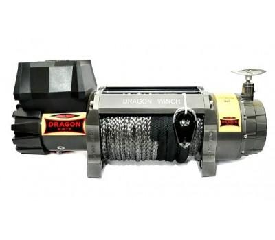 Лебедка автомобильная электрическая DWH 9000 HD synthetic