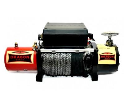 Лебедка автомобильная электрическая DWM 12000 HD synthetic