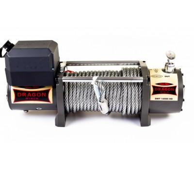 Лебедка электрическая на эвакуатор DWT 14000 HD