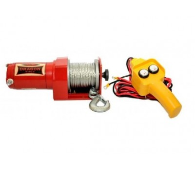 Лебедка для квадроцикла электрическая DWM 2000 ST YP