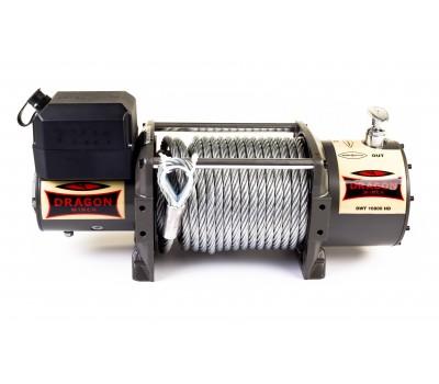 Лебедка электрическая на эвакуатор DWT 16800 HD